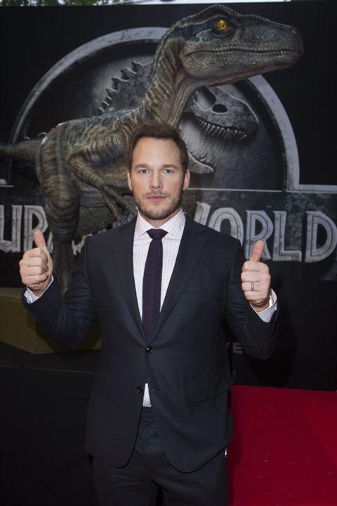 Jurassic World : Couverture magazine Chris Pratt