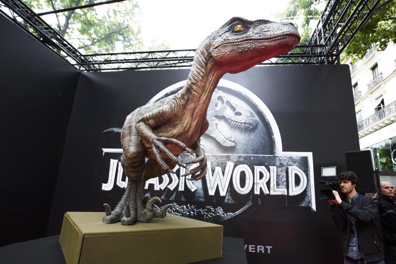 Jurassic World : Couverture magazine