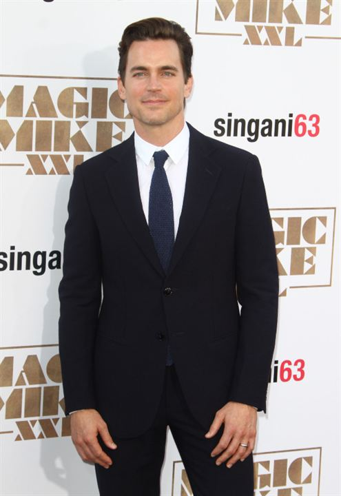 Magic Mike XXL : Couverture magazine Matt Bomer