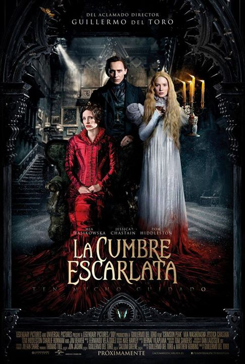 Image result for la cumbre escarlata poster