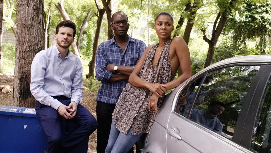 Foto Alex Descas, Joy Olasunmibo Ogunmakin, Thibault Vinçon