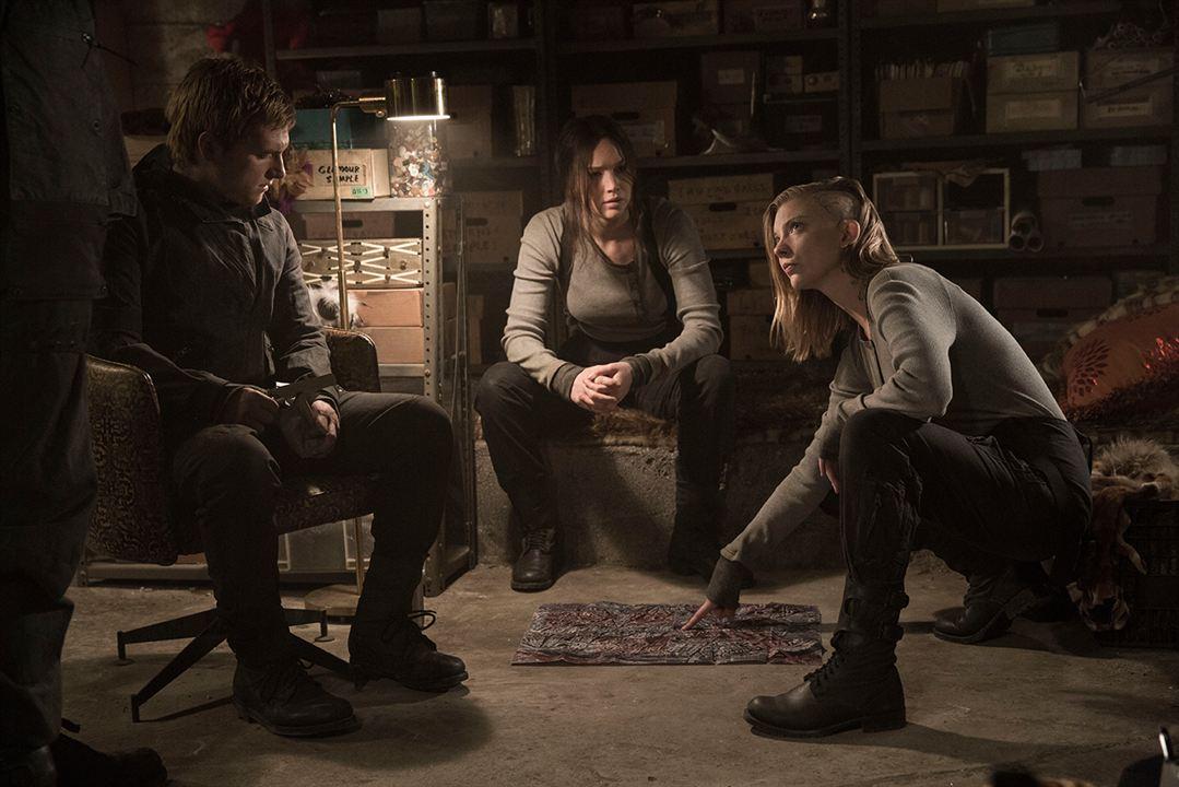 Los juegos del hambre: Sinsajo - Parte 2 : Foto Jennifer Lawrence, Josh Hutcherson, Natalie Dormer