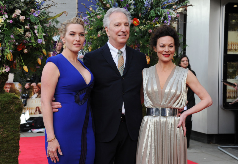A Little Chaos : Couverture magazine Alan Rickman, Helen McCrory, Kate Winslet