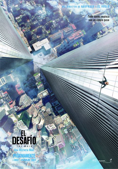 El desafío (The Walk) : Cartel