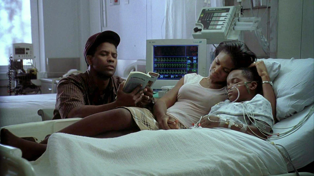 John Q : Foto Daniel E. Smith, Denzel Washington, Kimberly Elise