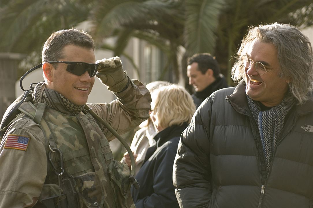 Green Zone. Distrito protegido : Foto Matt Damon, Paul Greengrass
