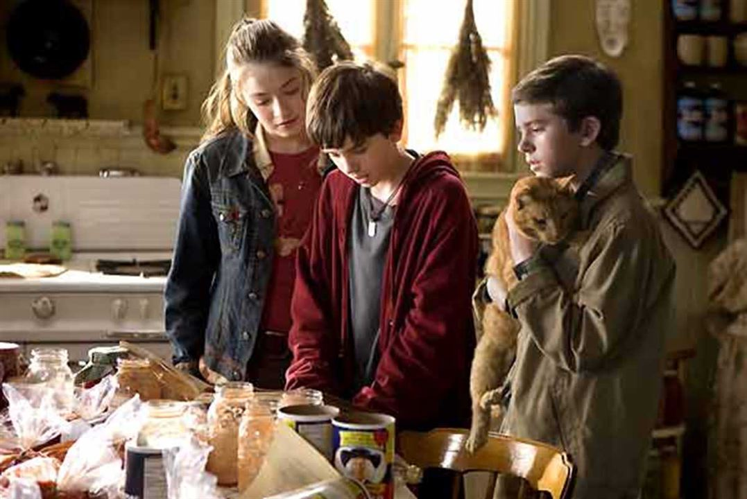 Las crónicas de Spiderwick : Foto Freddie Highmore, Mark Waters, Sarah Bolger