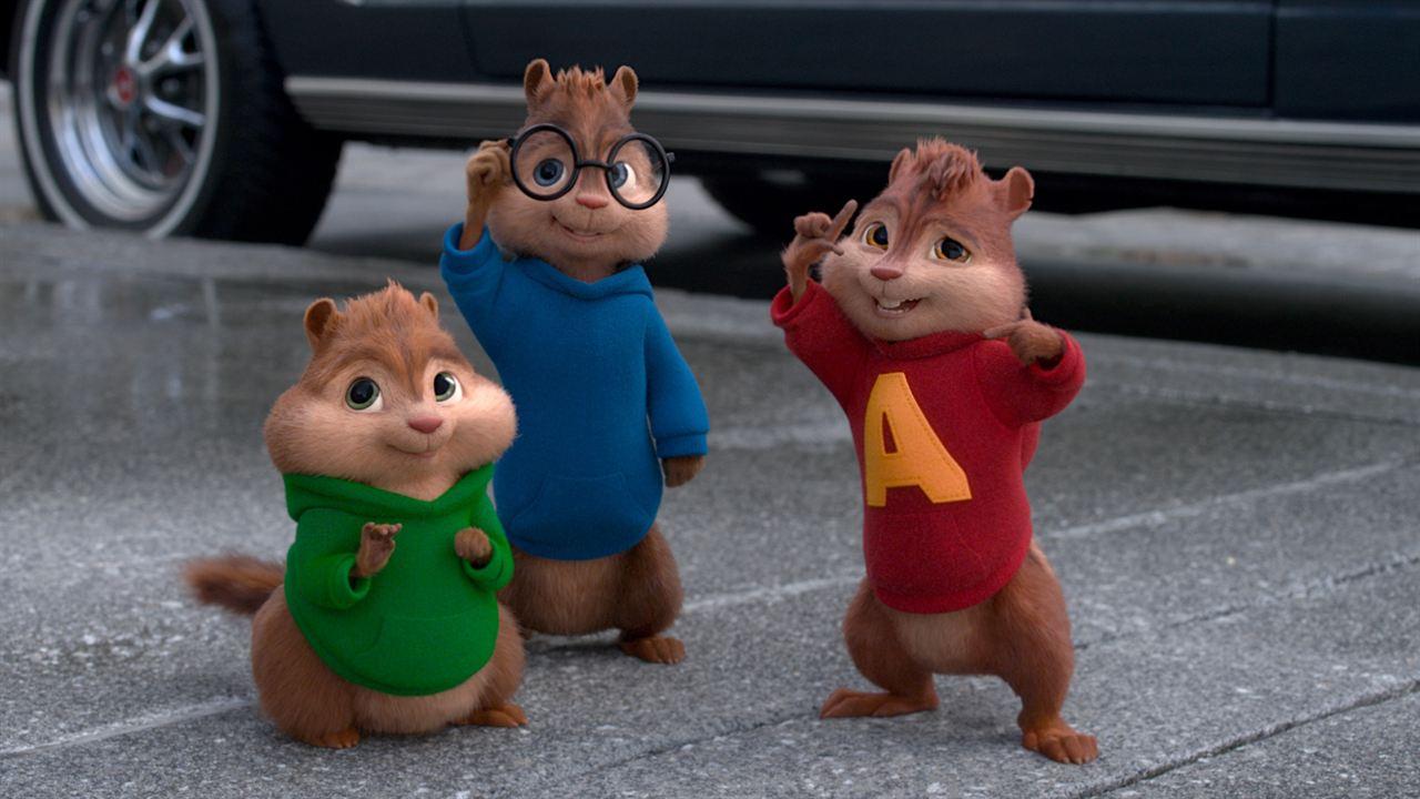 Alvin y las ardillas: Fiesta sobre ruedas : Foto