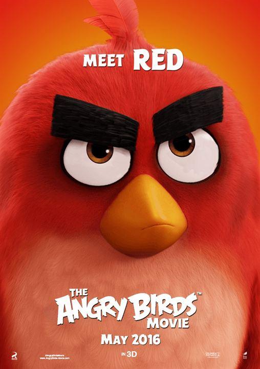 poster de angry birds la pelicula