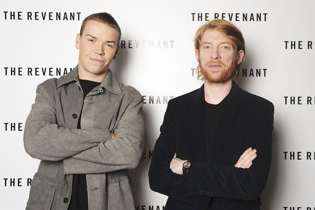 El renacido : Couverture magazine Domhnall Gleeson, Will Poulter