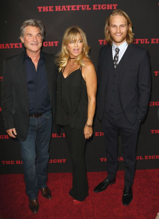Los odiosos ocho : Couverture magazine Goldie Hawn, Kurt Russell, Wyatt Russell