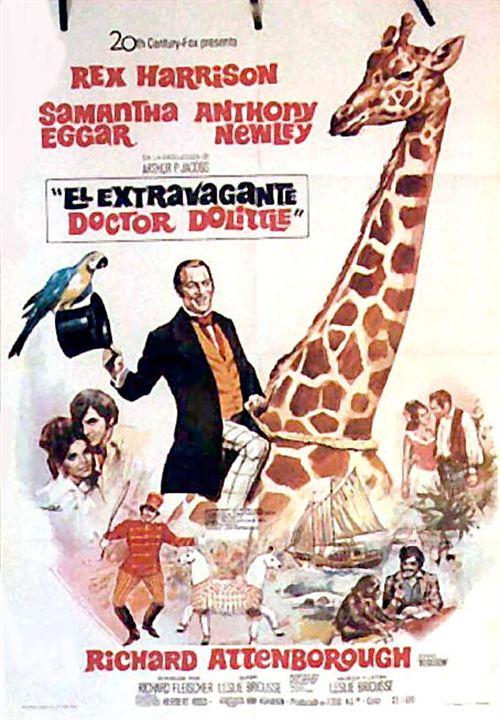 El extravagante doctor Dolittle : Cartel