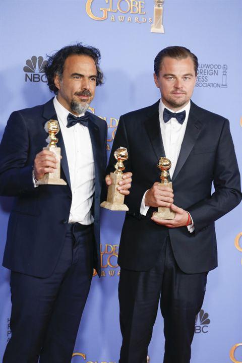 El renacido : Couverture magazine Alejandro González Iñárritu, Leonardo DiCaprio