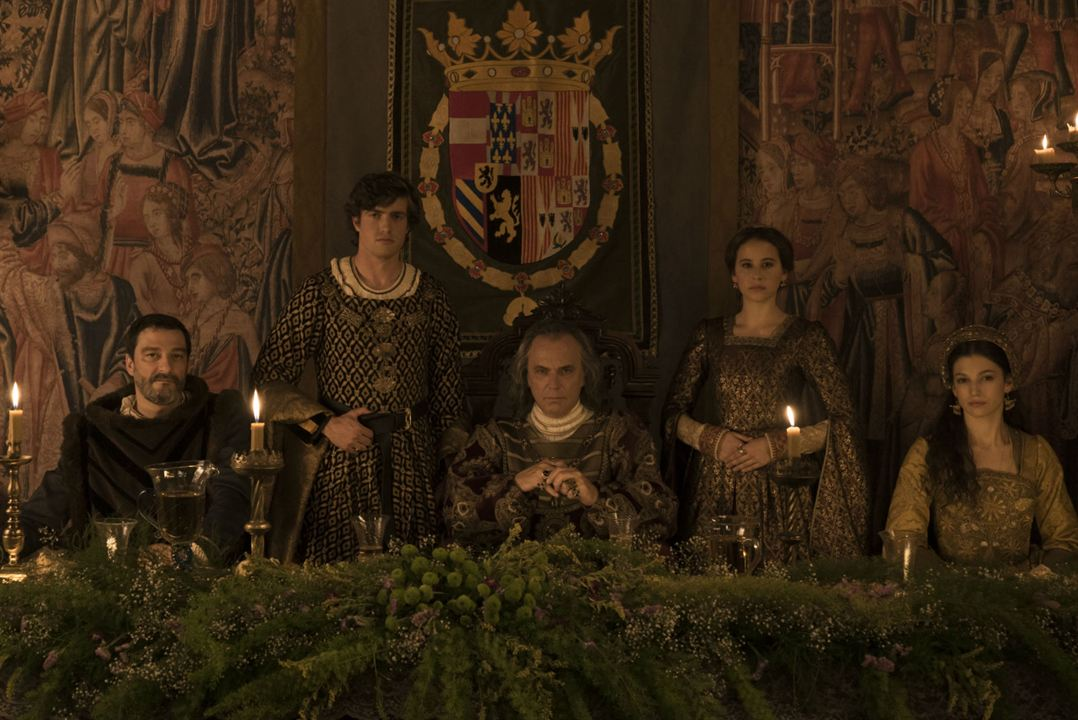 La corona partida : Foto Irene Escolar, José Coronado, Raúl Mérida, Úrsula Corberó