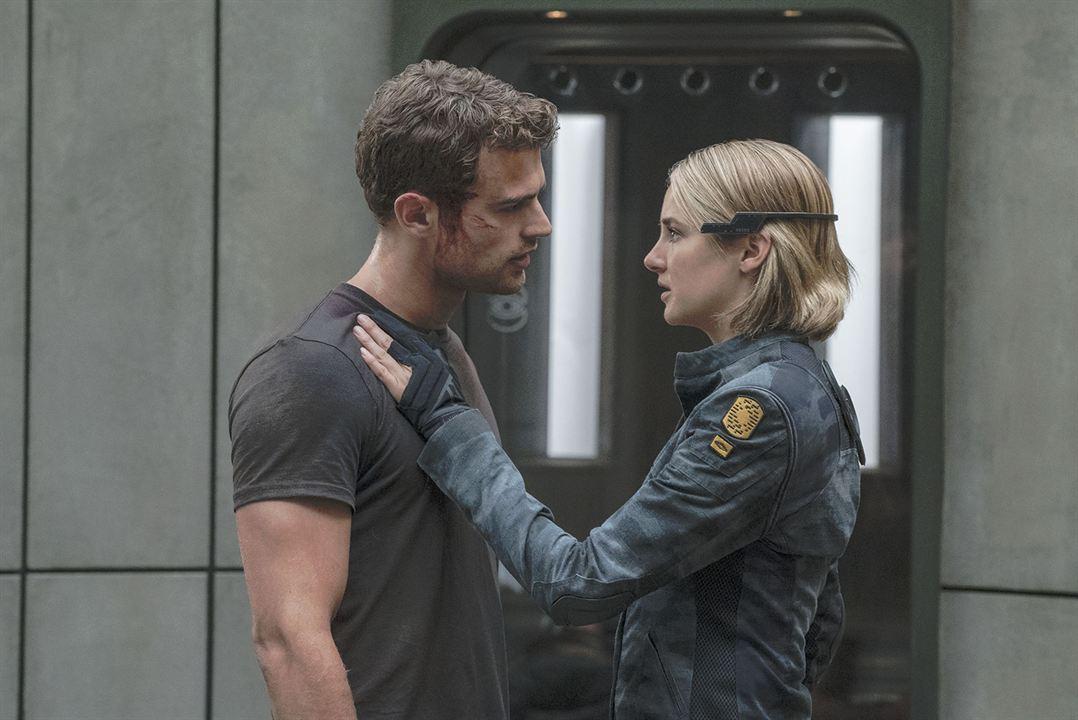 La serie Divergente: Leal : Foto Shailene Woodley, Theo James