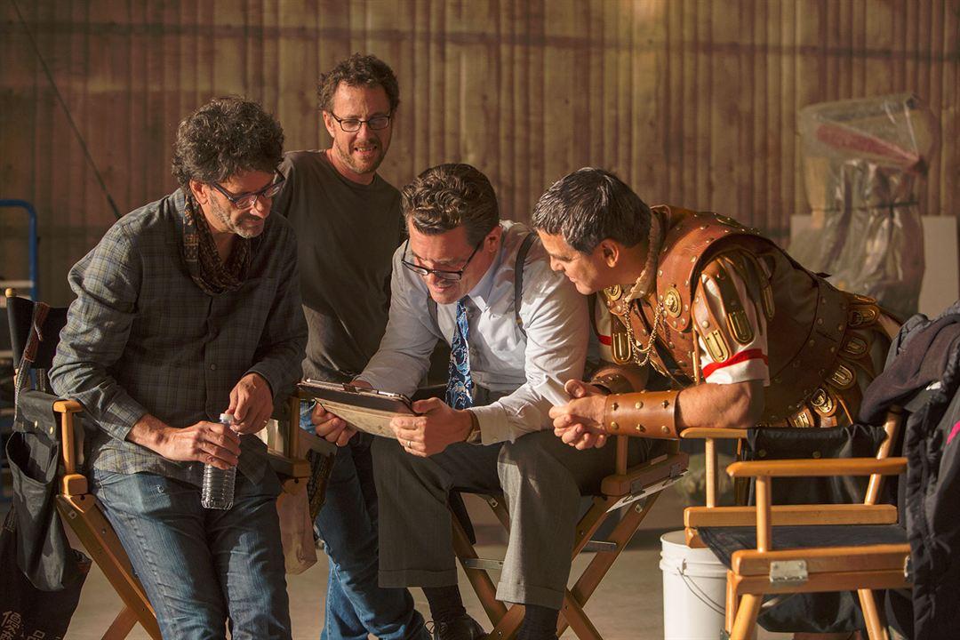¡Ave, César! : Foto Ethan Coen, George Clooney, Joel Coen, Josh Brolin