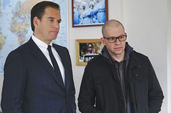 Foto Jon Cryer, Michael Weatherly