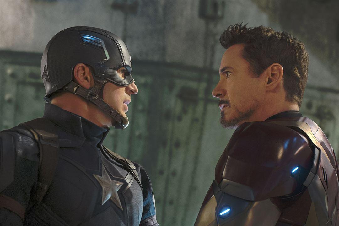 Capitán América: Civil War : Foto Chris Evans, Robert Downey Jr.