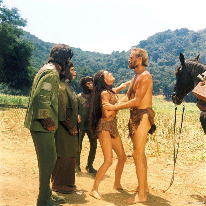 El planeta de los simios : Foto Charlton Heston
