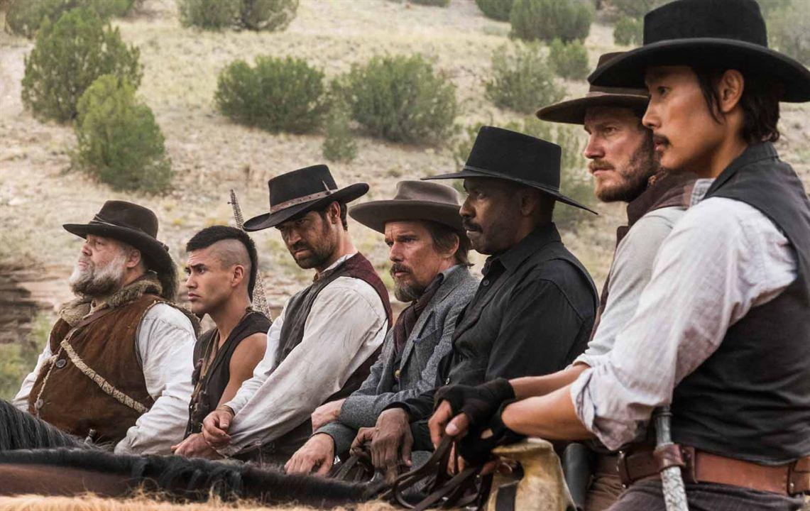 Los siete magníficos : Foto Chris Pratt, Denzel Washington, Ethan Hawke, Lee Byung-Hun, Manuel Garcia-Rulfo