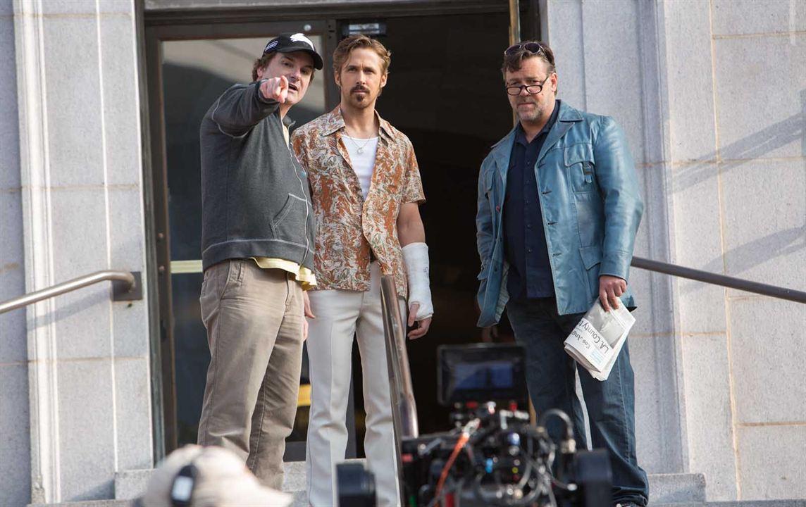 Dos buenos tipos : Foto Russell Crowe, Ryan Gosling, Shane Black