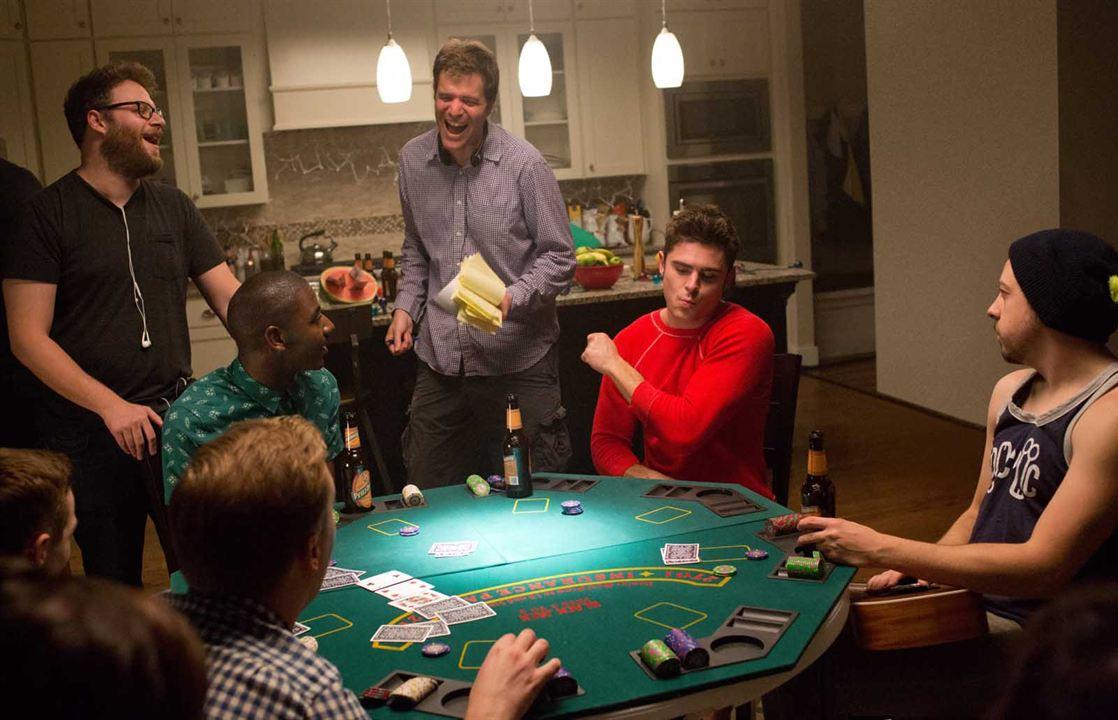 Malditos vecinos 2 : Foto Christopher Mintz-Plasse, Jerrod Carmichael, Nicholas Stoller, Seth Rogen, Zac Efron