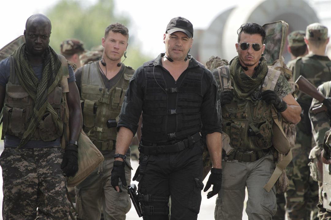 Sniper: Ghost Shooter : Foto Billy Zane, Chad Michael Collins, Enoch Frost, Nick Gomez (III)