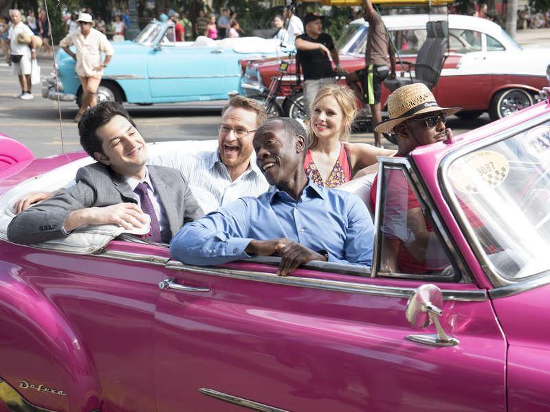 Foto Ben Schwartz, Don Cheadle, Josh Lawson, Kristen Bell