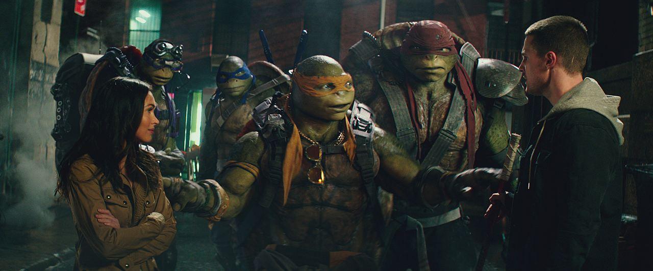 Ninja Turtles: Fuera de las sombras : Foto Megan Fox, Stephen Amell