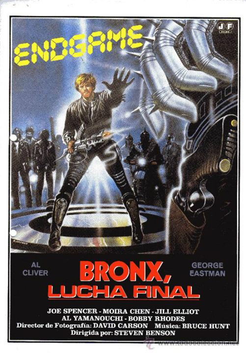 Bronx, lucha final : Cartel