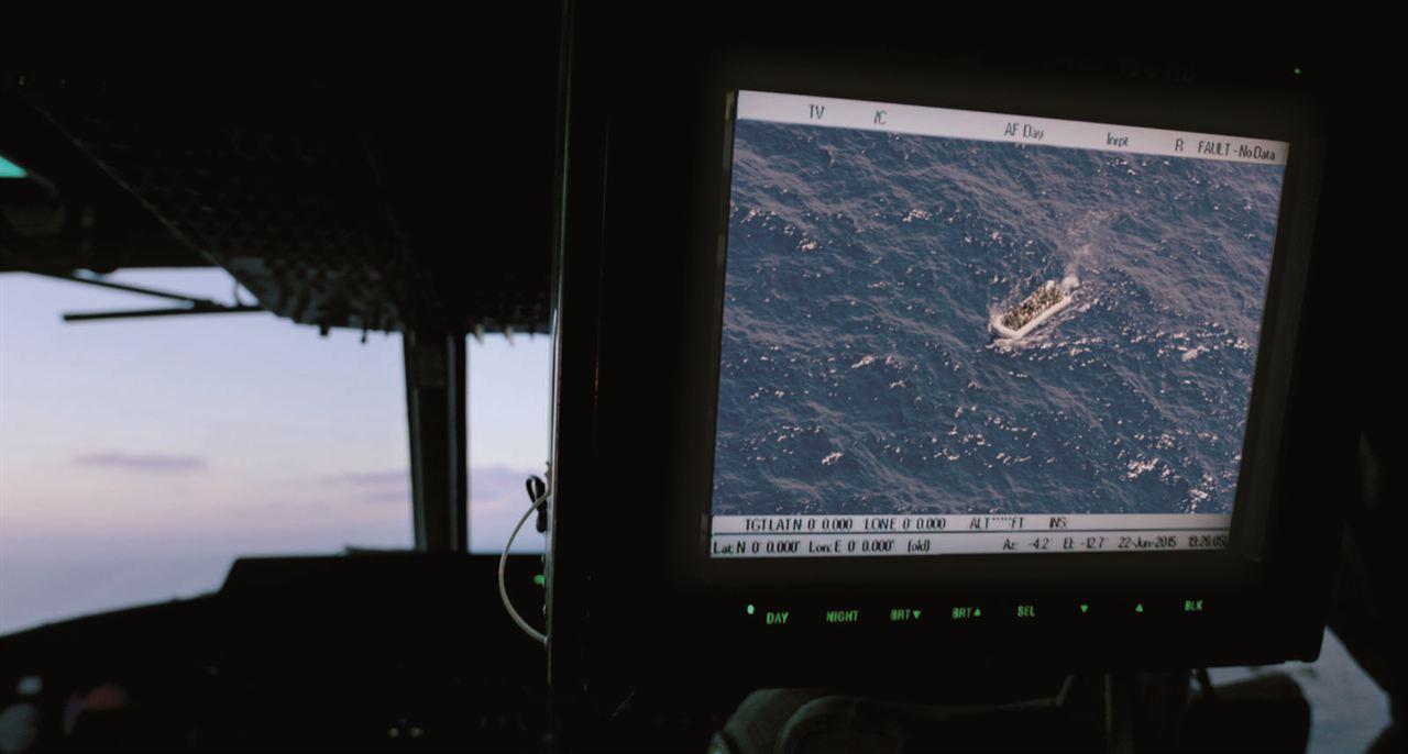 Fuego en el mar : Foto