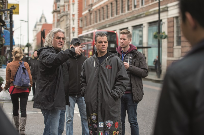 Jason Bourne : Foto Matt Damon, Paul Greengrass
