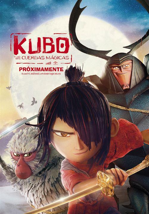 Kubo y las dos cuerdas mágicas : Cartel