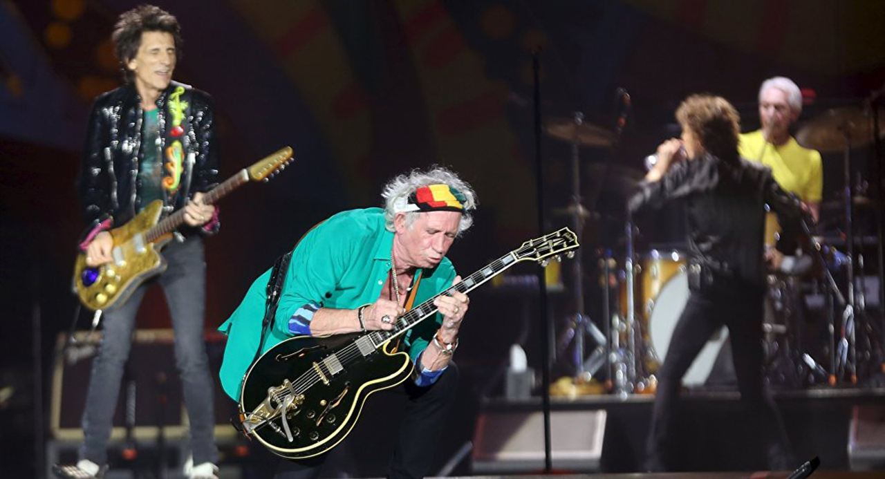 Ciné Music Festival : Rolling Stones in Cuba - Havana Moon - 2017 : Foto Charlie Watts, Keith Richards, Mick Jagger, Ronnie Wood