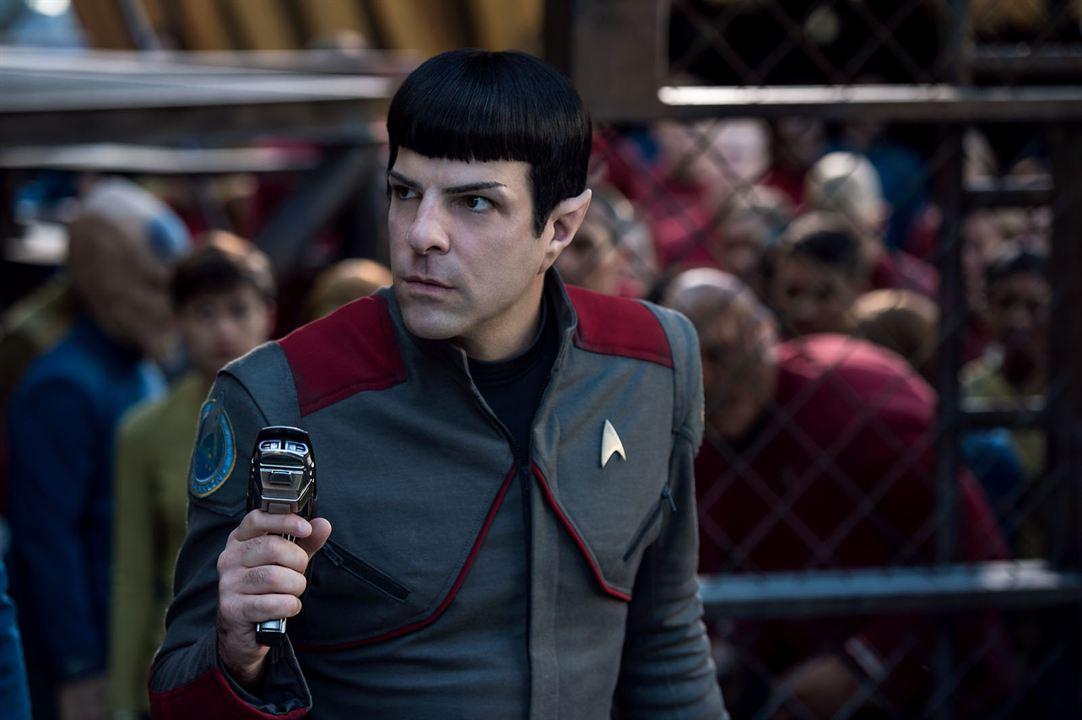Star Trek: Más allá : Foto Zachary Quinto