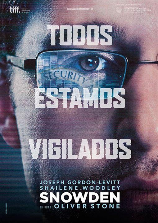 Snowden [DVDRip] [Subs Latino] [1 Link] [MEGA]