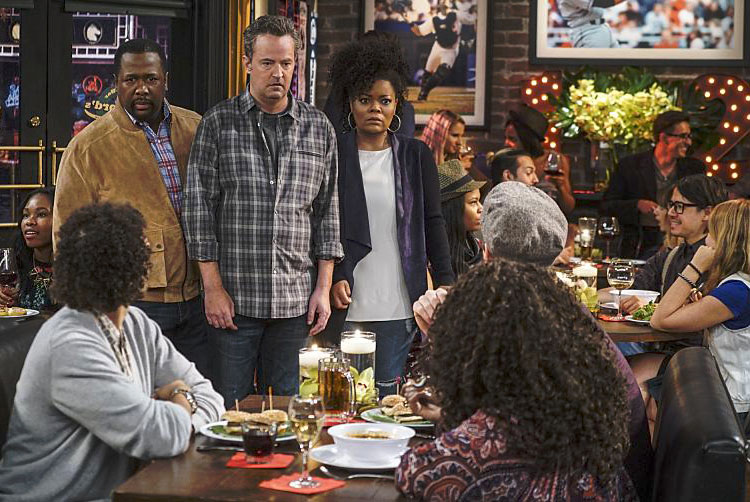 Foto Matthew Perry, Wendell Pierce, Yvette Nicole Brown
