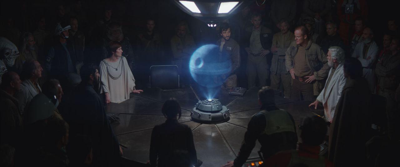 Rogue One: Una historia de Star Wars : Foto Diego Luna, Genevieve O'Reilly