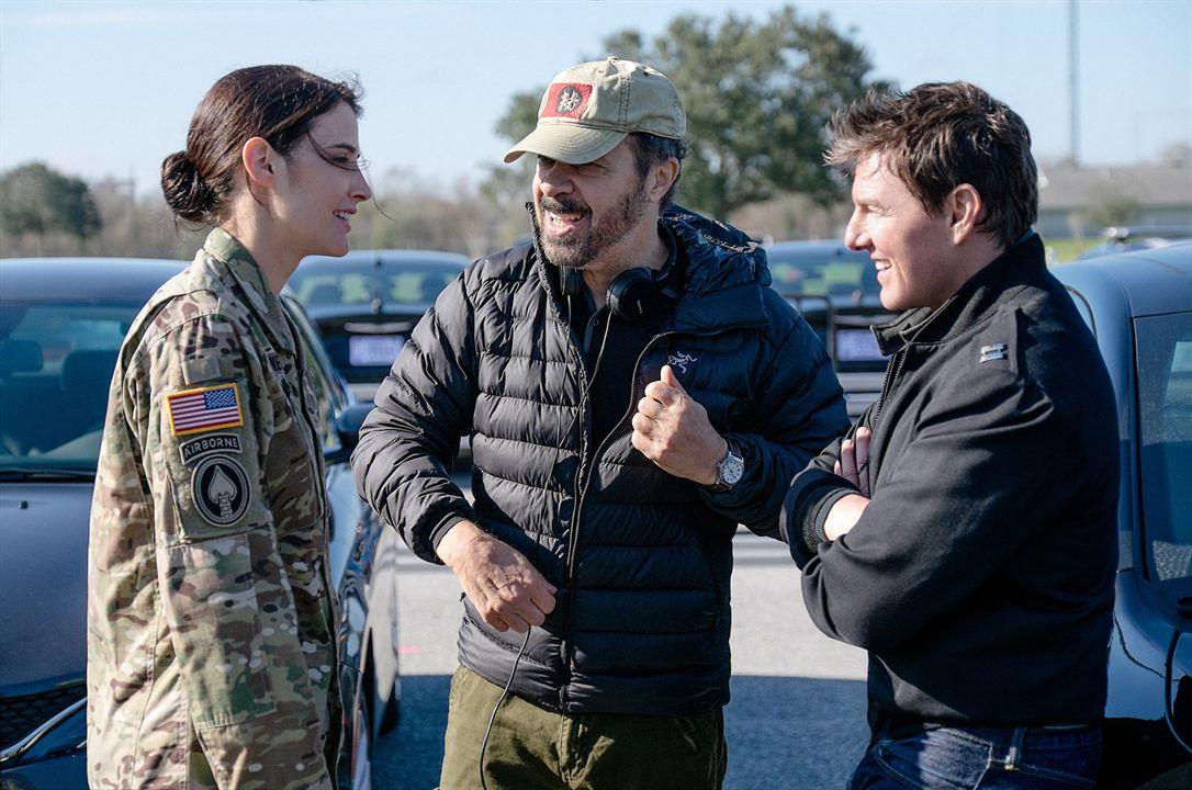 Jack Reacher: Nunca vuelvas atrás : Foto Cobie Smulders, Edward Zwick, Tom Cruise