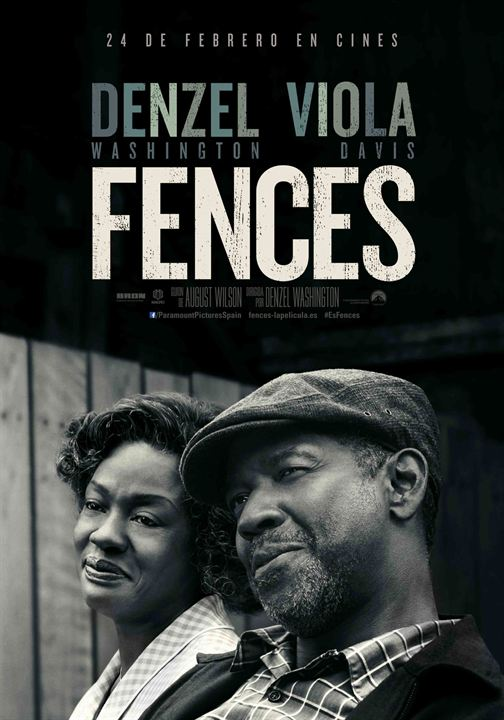 cartel de la pelicula fences