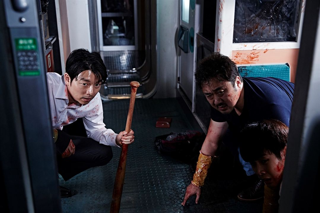 Train to Busan : Foto Dong-seok Ma, Gong Yoo