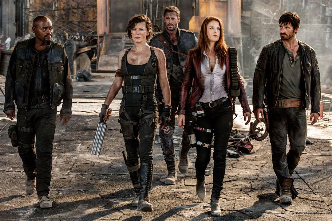 Resident Evil: El capítulo final : Foto Ali Larter, Eoin Macken, Fraser James, Milla Jovovich, William Levy