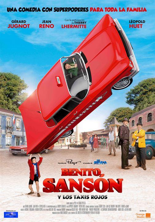 Benito Sansón y los taxis rojos : Cartel