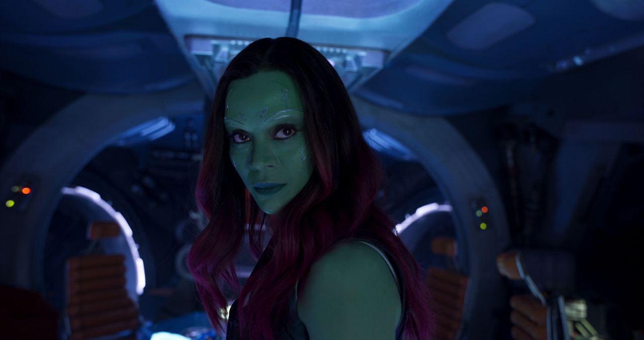 Guardianes de la Galaxia Vol. 2 : Foto Zoe Saldana