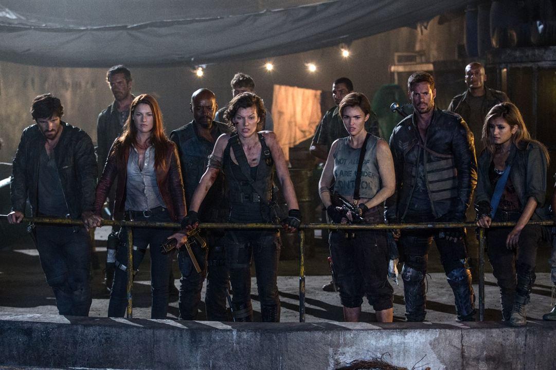 Resident Evil: El capítulo final : Foto Ali Larter, Eoin Macken, Fraser James, Milla Jovovich, Rola Aoyama