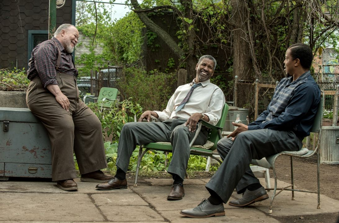 Fences : Foto Denzel Washington, Russell Hornsby, Stephen Henderson