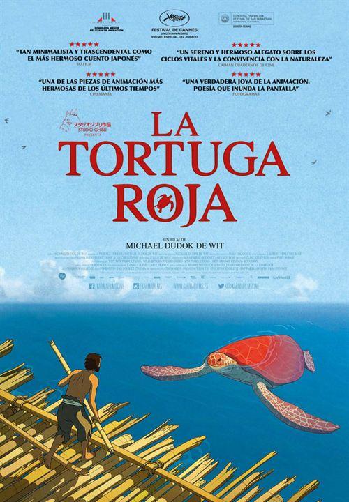 Resultado de imagen de la tortuga roja cartel