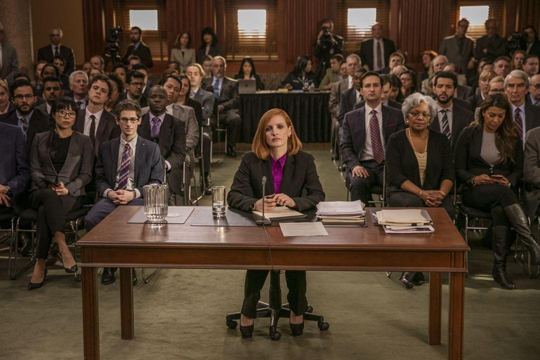 El caso Sloane : Foto Jessica Chastain