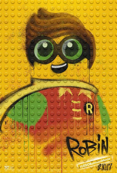 Batman: La Lego Película : Cartel