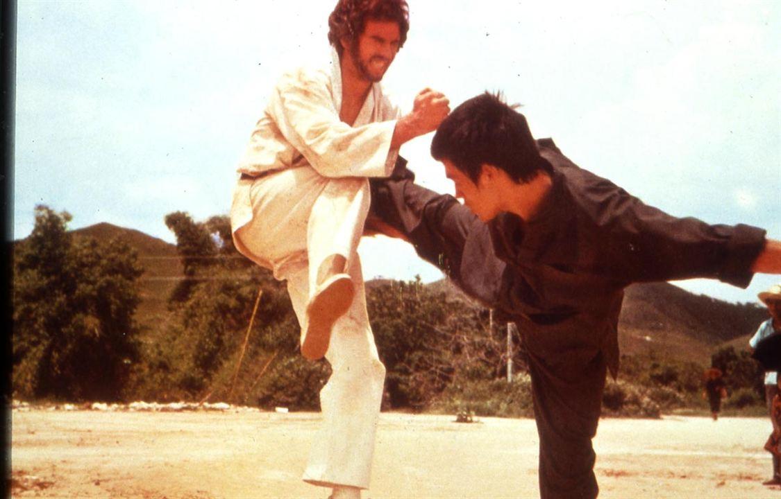 El furor del dragón : Foto Bruce Lee, Chuck Norris